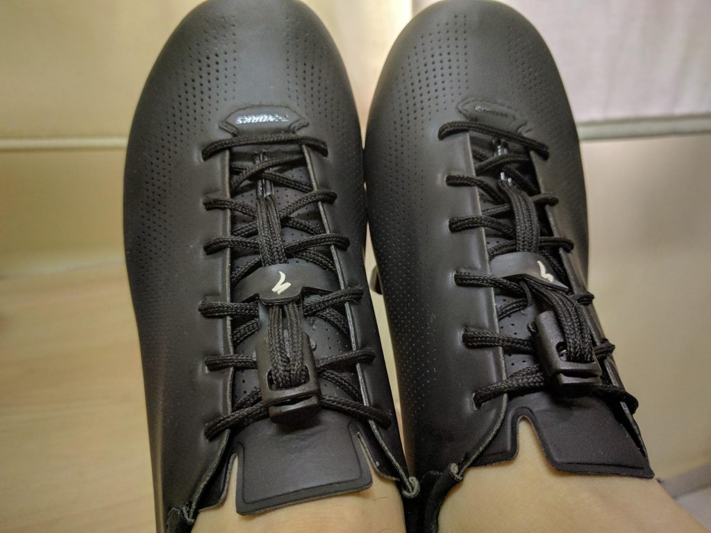 Speedlaces on the S-Works Sub6